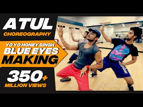 Big Dance Centre: Behind The Scenes Of Blue Eyes Songs Rehearsal With Honey Singh. video