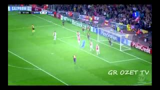 Neymar Goal vs Ajax / Barcelona vs Ajax 1-0 21/10/2014 HD