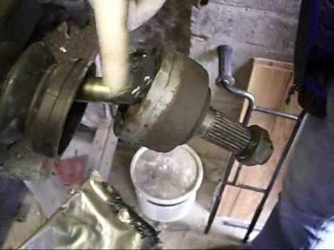 HONDA CIVIC cv joint removal and refit