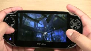 Sony Playstation Vita Uncharted Golden Abyss Demo Review (Psvita)