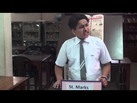 English Debate Competition St. Marks Public School Janak Puri...