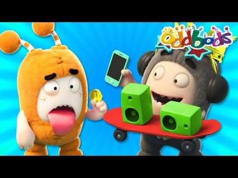 Oddbods - TECH TRENDY   NEW Full Episodes   Funny Cartoons thumbnail