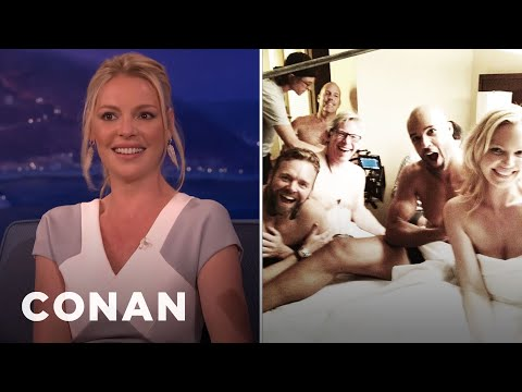 Katherine Heigl's Accidentally Porny Instagram  - CONAN on TBS