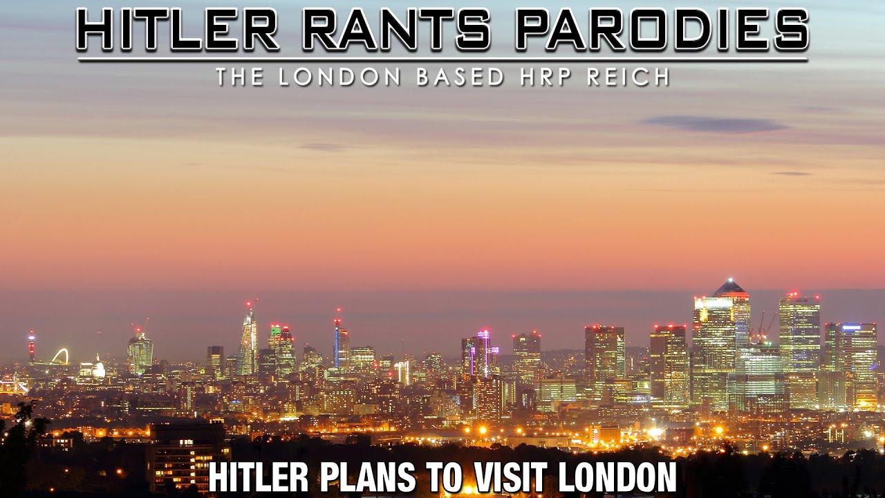 Hitler plans to visit London