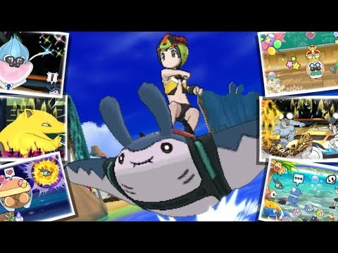Surf's Up in Pokémon Ultra Sun and Pokémon Ultra Moon!