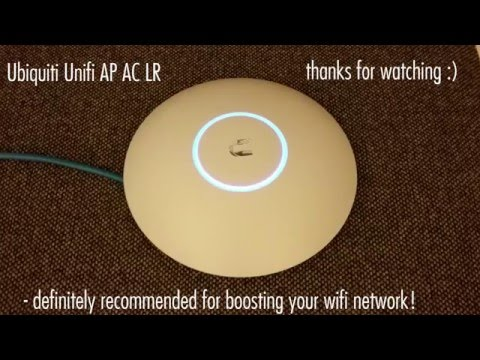 Ubiquiti Unifi AP AC LR Unboxing. Setup and Review