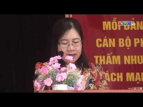 Hội thi cán bộ hội LHPN giỏi quận Ô Môn