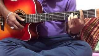 Jodi Vule Jao na hoy amake - Guitar tutorial