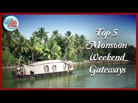 Top 5 Monsoon Travel Destinations | Vir Sanghvi | AskMe