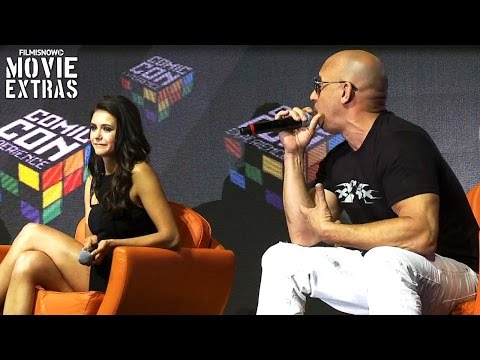 xXx: Return of Xander Cage | Brazil Comic-Con Interviews with Vin Diesel and Nina Dobrev thumbnail