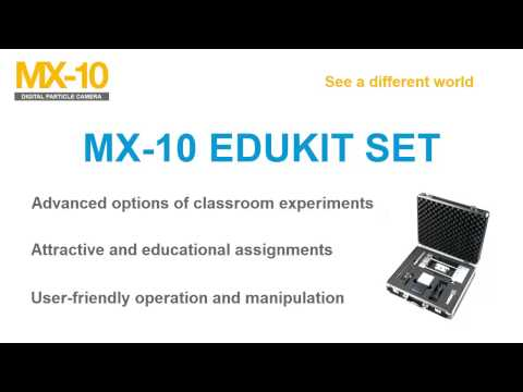MX-10 Particle Camera - EDUKIT set for school particle physics experiments