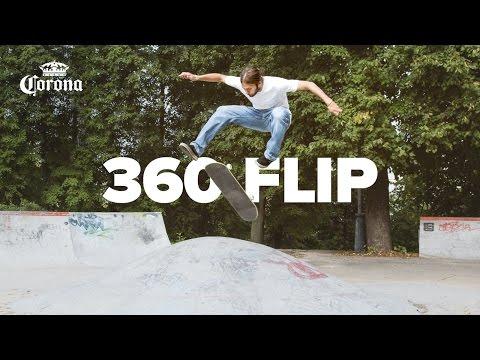 Как делать 360 Flip на скейтборде – Трюки на скейте для начинающих