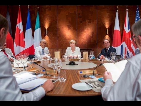Greece and Russia dominate the G-7 summit 2-day talks
