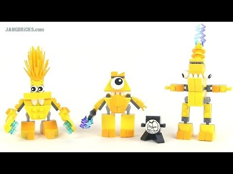LEGO Mixels review - Series 1 Electroids Teslo. Volectro. AND Zaptor!