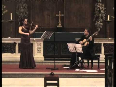 Nazrin Rashidova and Stanislav Hvartchilkov | WA MOZART - Duo in G, K. 423 (arr. Eliot Fisk)