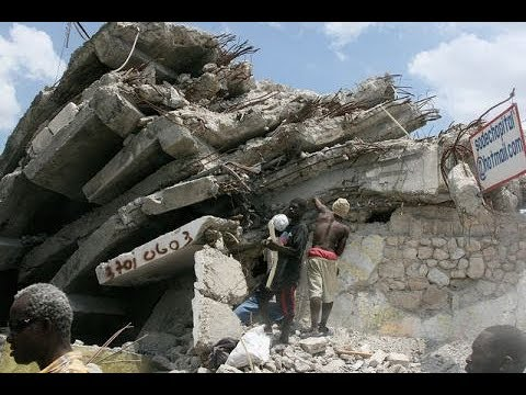 Haiti earthquake footage never seen before
