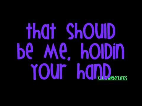 That Should Be Me - Justin Bieber + Lyrics (My World 2.0 Studio Version)