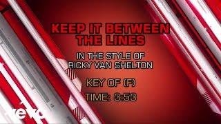 Watch Ricky Van Shelton Keep It Between The Lines video