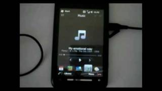 HTC Sense 2.5 on Toshiba TG01