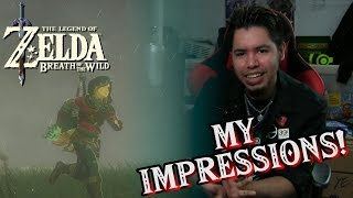 Breath Of The Wild - Impressions & Thoughts! (SPOILER-FREE)