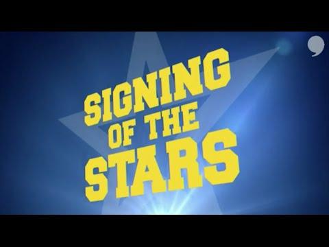 University of Michigan - Signing of the Stars