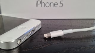 iPhone 5 Lightning Connector Review and Speed Test