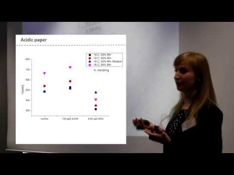 Collections Demography Part 5 - Historic paper and environment (Eva Menart)
