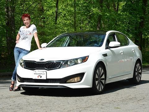 Kia Optima Turbo 2011 Test Drive & Car Review - RoadflyTV with Emme Hall