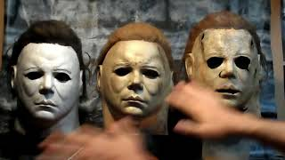 EVOLUTION OF THE HERO MICHAEL MYERS MASK