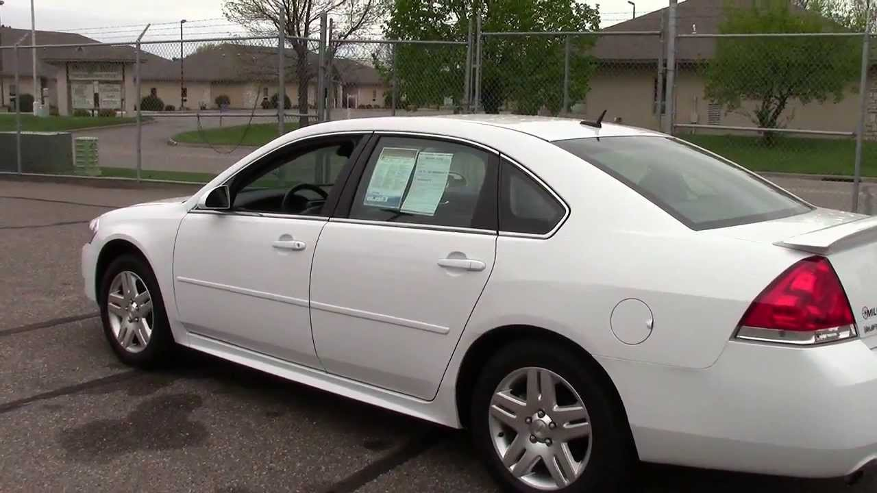 2013 Chevrolet Impala Lt Youtube