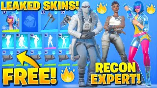 All New Leaked Fortnite Skins & Emotes! (RECON EXPERT, Renegade Shadow, Shimmer Specialist)