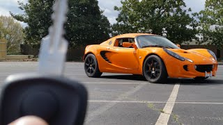 2005 Lotus Elise: Start Up, Review, Test Drive & Review