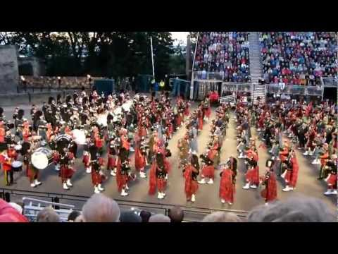 Royal Edinburgh Military Tattoo, 2011- Massed Pipes & Drums. Music Videos