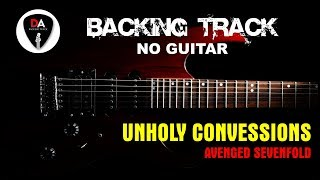 Unholy Confessions - Avenged Sevenfold (Backing Track - No Guitar)
