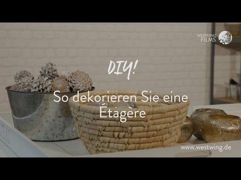3 Schöne & Einfache DIY-Ideen Zum Etagere Dekorieren | WESTWING Style-Tipps