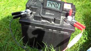 Charging a Car Battery with a Solar Panel and Charge Controller