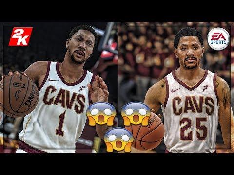 ITS NOT EVEN CLOSE!!! NBA LIVE 18 VS NBA 2k18!!! GOD LEVEL GRAPHICS