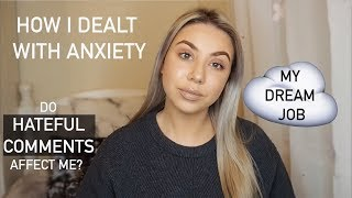 ANSWERING YOUR QUESTIONS | Q&A, ANXIETY