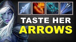 Freeze and Burn Tasty Arrows | Dota 2 Ability Draft