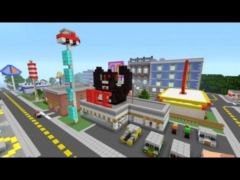 Minecraft Xbox 360 - Modern City - SPANKLECHANK's World Tour - Part 6