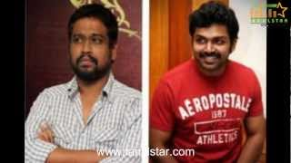 All In All Alaguraja - Karthi, Santhanam & Rajesh Ready to Blast in All in all Azhagu Raja