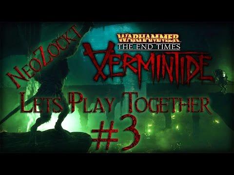 Warhammer End Times Vermintide #3 Friedhof der Kuschelratten[Let´s Play Together 1080p german]