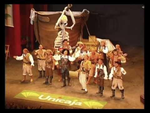 Comparsa - Los Piratas \ Actuación Completa en la FINAL \ Carnaval 1998