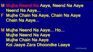 download lagu Mujhe Nind Na Aaye - Udit Narayan Anuradha Paudwal gratis