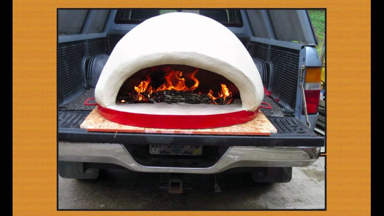 portable wood fired pizza oven plans