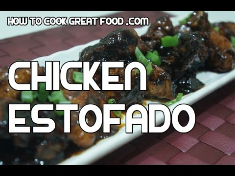 Chicken Estofado Recipe - Tagalog Pinoy Cooking Filipino