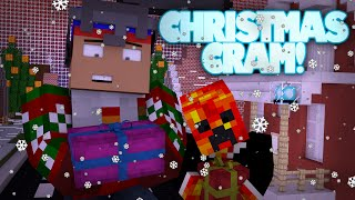 Minecraft | YOU ARE SANTA CLAUS! | CHRISTMAS CRAM CHALLENGE (Minecraft Christmas Minigame)