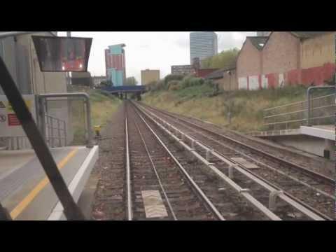 London DLR- Stratford - Canary Wharf