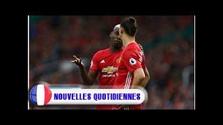Manchester united: paul pogba et zlatan ibrahimovic de retour et prêts à jouer ce week-end