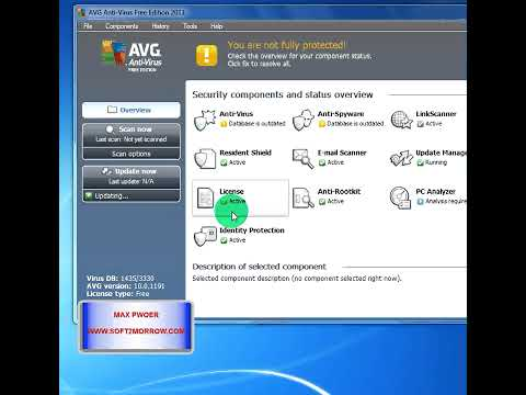 AVG FREE 2011   شرح تسطيب برنامج